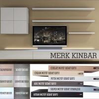Jual 60x10x4cm Rak Dinding/Ambalan/Melayang/Floating Shelf MERK KINBAR A400 Murah