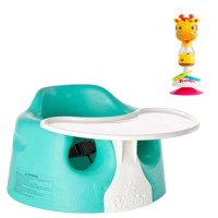 Bumbo Combo Floor Seat Aqua with Toys Giraffe Gwen