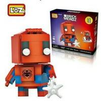 LEGO SUPER HERO SPIDER-MAN MERK LOZ SUSUN BALOK (MAINAN EDUKASI)