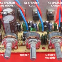 harga Kit Power Amplifier 21s Tda2030 / 2.1 Sistem Tokopedia.com