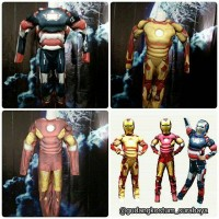 Sewa Kostum anak Iron man superhero import