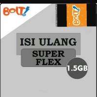 isi ulang MODEM BOLT SUPERFLEX 1,5GB