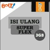 isi ulang MODEM BOLT SUPERFLEX 3GB