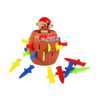 PIRATE BARREL KING PIRATE ROULETTE GAME RUNNING MAN / FAMILY GAME
