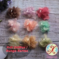 Frill Sifon (Bunga Kertas ) perlusin (Aplikasi Craft / Kerajinan)