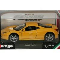 Ferrari 458 Italia (Diecast Miniatur Mobil 1/24 Bburago)