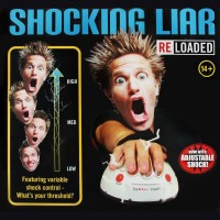 Polygraph Shocking Liar Micro Electric Shock Lie Detector Truth Game T