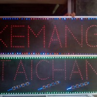 Tulisan Lampu Led Sign PAKET TAICHAN KEMANG BESAR - LIKE RUNNING TEXT