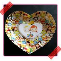 Piring kertas kue ulang tahun pesta party karakter tsumtsum tsum tsum