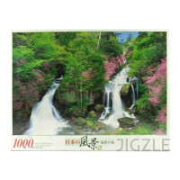 EPOCH 10-784 Ryuzu Falls, Tochigi 1000 Pieces Jigsaw Puzzle