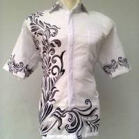 Batik Anma Nusantara -Kemeja Hem Baju Batik Katun -