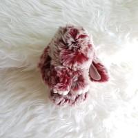 Jual Gantungan Kelinci Copenhagen Bunny Bag Charm Marun Putih 18cm 2 Warna Murah