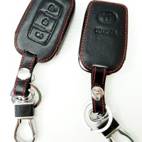 Leather Key Cover Kulit Remote Kunci Toyota All New Avanza G, Veloz