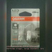 Osram LED T10 (W5W) cool White 6000k lampu Senja- Blisterpack