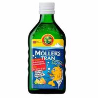 Moller Mollers Moller's Tran Trans Fish Oil Minyak Ikan Vitamin Bayi