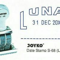 STEMPEL LUNAS TANGGAL JOYKO S-68