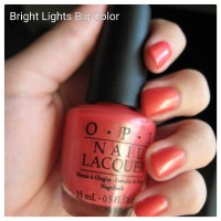 Original O.p.i Nail Lacquer (opi Bright Lights Big Color)