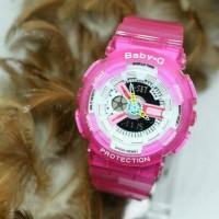 G-Shock baby G transparan pink