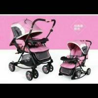 stroller pliko beer/kereta dorong bayi/kursi makan bayi/ayunan bayi/