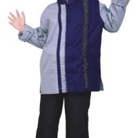 Baju Koko Bordir Anak Koko Anak Laki-Laki Branded - Baju Muslim Anak