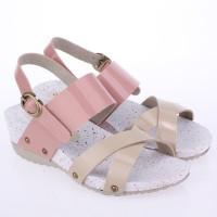 Sandal Anak Cewek Sandal Wedges  Casual Anak High heels Anak Branded