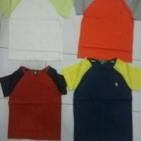 Sale original branded atasan polo shirt lacoste Kaos katun anak cowok 162318cac1