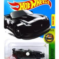 '15 Jaguar F-Type Project 7 HITAM / BLACK Track Stars - Hot Wheels HW