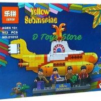 Jual Brick The Beatles - Yellow Submarine merek Lepin Murah