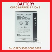 Oppo Mirror 3 R3001 Blp589 2000mah Joy 3 Battery Batre Baterai 904640