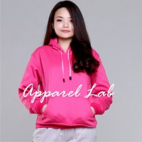 Cotton Lab Essential Hoodie Jumper - (Pink)