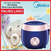 Midea Rice Cooker 0,7Liter MRM-2001 P/G/B