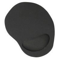 Jual Gel Wrist Rest Mouse Pad - Black Murah