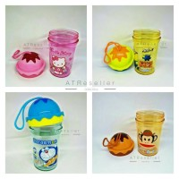 Gelas tumbler mini tutup es krim / termos anak / perlengkapan sekolah