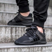 Adidas Eqt Support ADV Full Black Premium Original