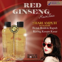 RED GINSENG HAIR TONIC BPOM MADE IN KOREA