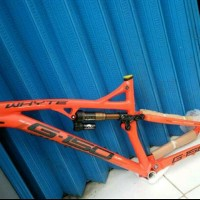 Frame Whyte G150 dan Seatpost Hilo Strate 30.9x124mm