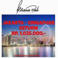 TIKET PROMO PESAWAT AIRASIA JAKARTA KE SINGAPORE 3 PAX