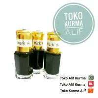Minyak Wangi ORIGINAL Misik Hitam Murni Bibit Non Alkohol 6 ml