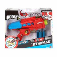 BOOMco Dynamag CJF20 Blaster Senjata Pistol Mainan Saingan Nerf