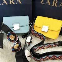 Jual tas zara double strap sling mini original Murah