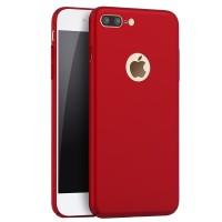 Jual Casing Cover iPhone 7 Plus Full Cover Ultra Thin Baby Skin Red 111903 Murah
