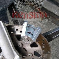 Kunci Cakram Disc Lock Triangle Yamaha Honda Suzuki Kawasaki