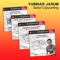 Paket Yubinar Copywriting Mastery Bersama Jaya Setiabudi