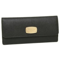 Michael Kors Jet Set Travel Flat Slim Saffiano Leather Wallet