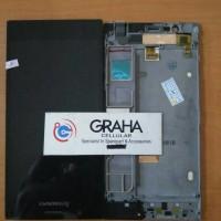 Jual lcd lenovo k900 fullset touchscreen dan frame original Murah