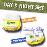 [SET] Garnier Light Complete White Speed (Day SPF + Night Cream)