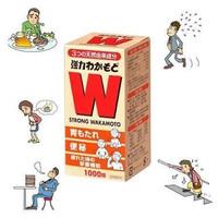 WAKAMOTO Strong Obat Maag/Nyeri Lambung/Pencernaan 1000Tabs