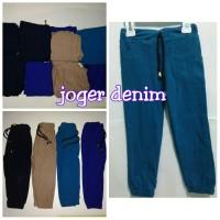 harga Jogger Anak & Bayi Celana Joger Denim Anak Jeans Size S - 1 2 Tahun Tokopedia.com