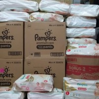 Jual Pampers Premium Care Pants Popok Celana M46/L42/XL36 Murah
