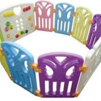 Sewa Mainan Coby Haus 8+2 Pagar Bayi BFA Free 1 Bulan